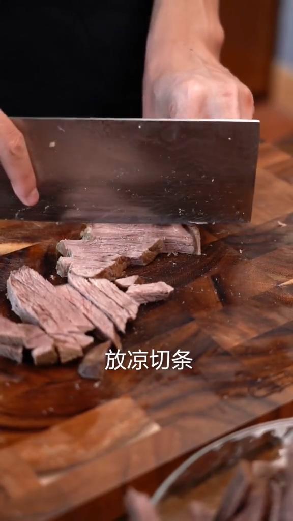 冷吃牛肉的家常做法