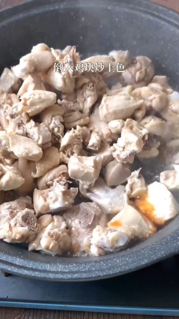 板栗烧鸡的做法图解