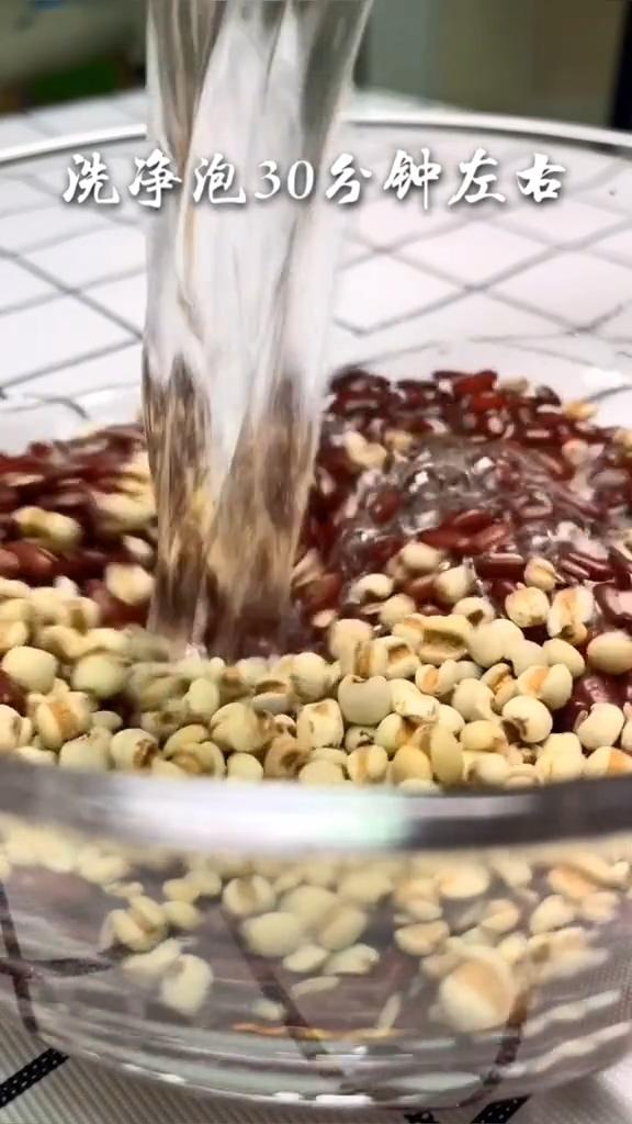 祛湿赤豆薏米汤的做法图解