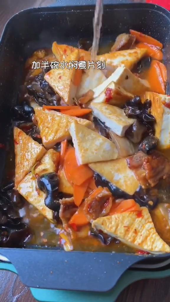 红烧豆腐怎么做