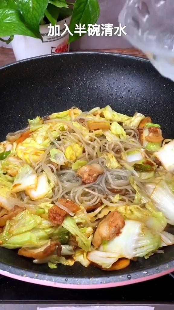 大白菜炖粉条怎么吃