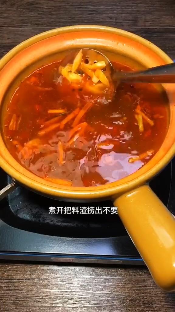 麻辣砂锅土豆粉的做法图解
