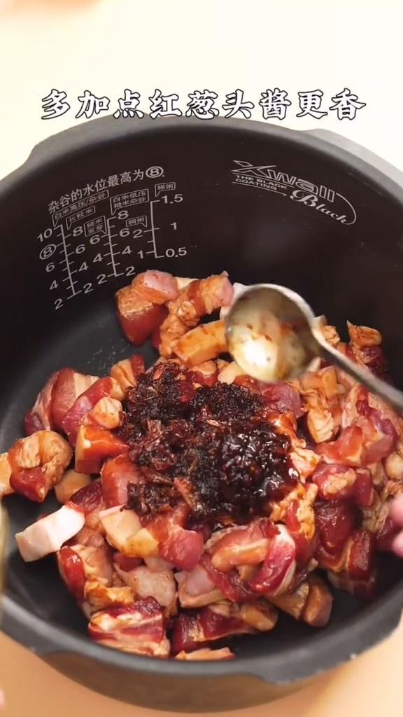 电饭锅卤肉饭的家常做法
