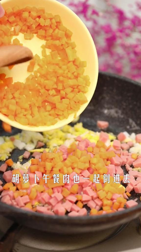 无米蛋炒饭的简单做法