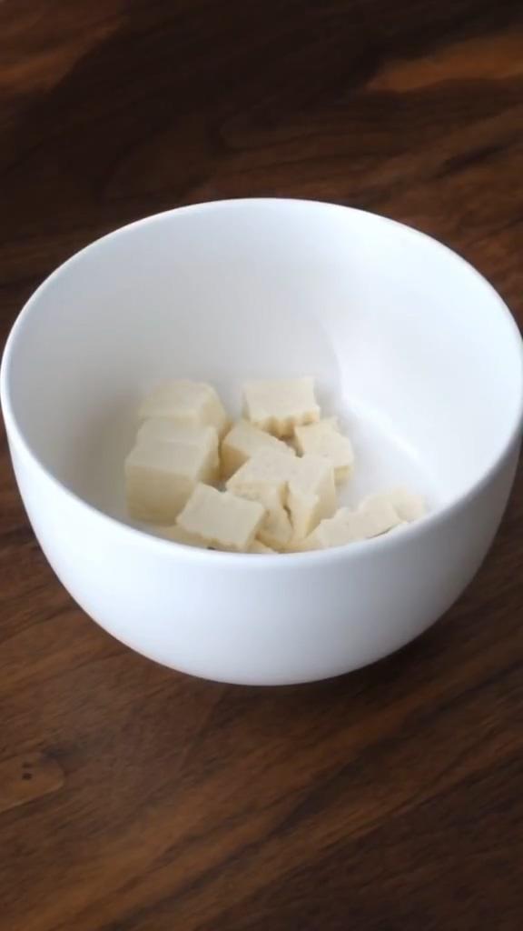 肉泥豆腐蒸蛋的做法图解