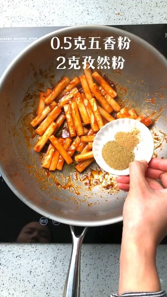 酱香炒年糕的简单做法