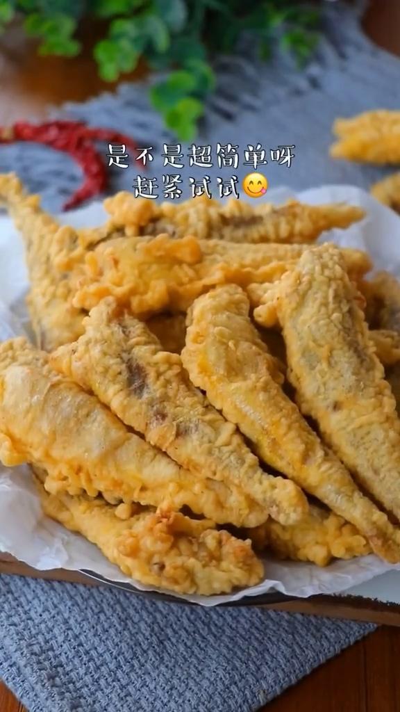 干炸小黄鱼怎么炒