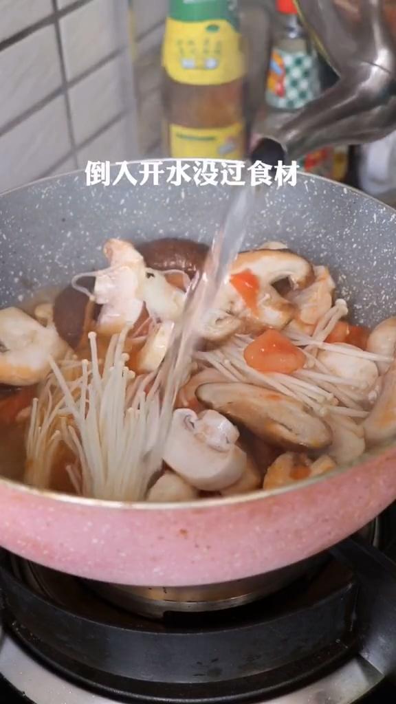 西红柿酸汤面的简单做法