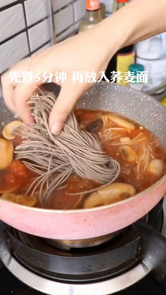 西红柿酸汤面怎么做