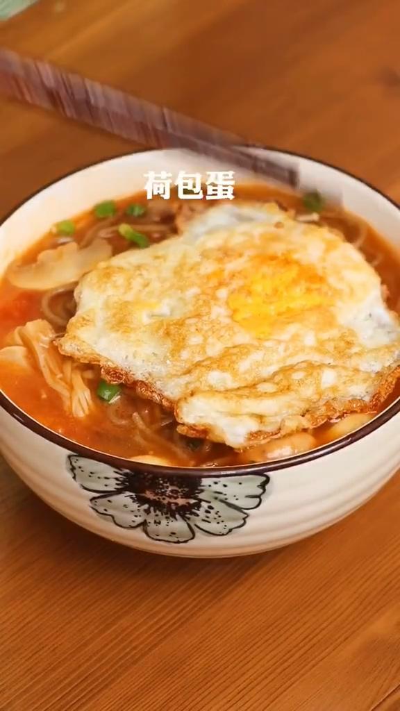 西红柿酸汤面怎么煮