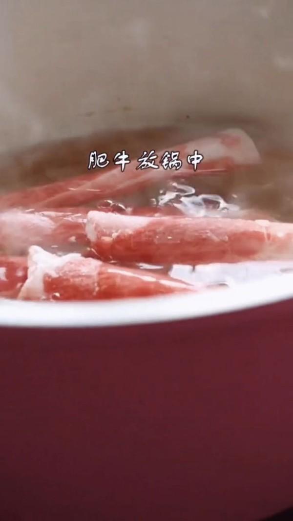 酸汤肥牛的做法图解