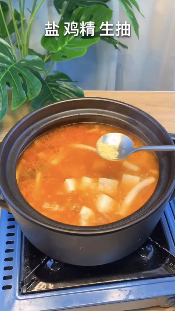 番茄开胃汤的简单做法
