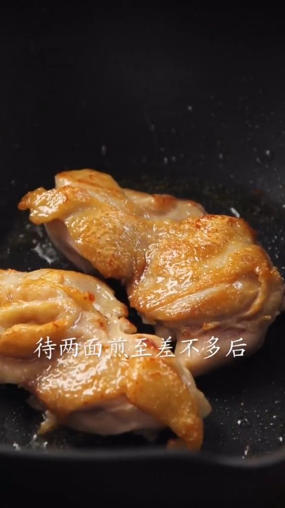 照烧鸡腿饭的简单做法