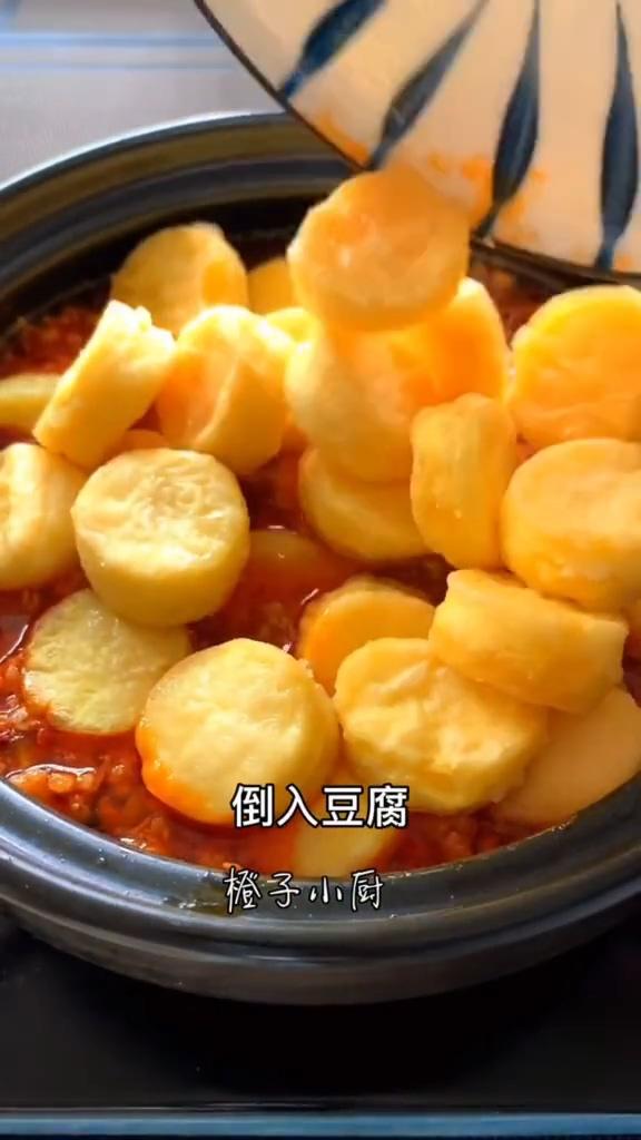 鸡蛋豆腐煲的步骤