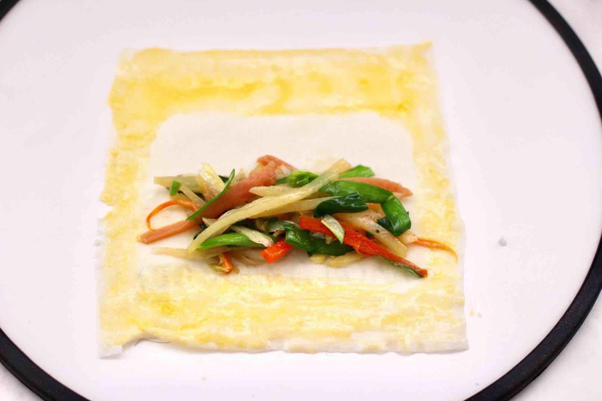 合菜春卷怎样煮