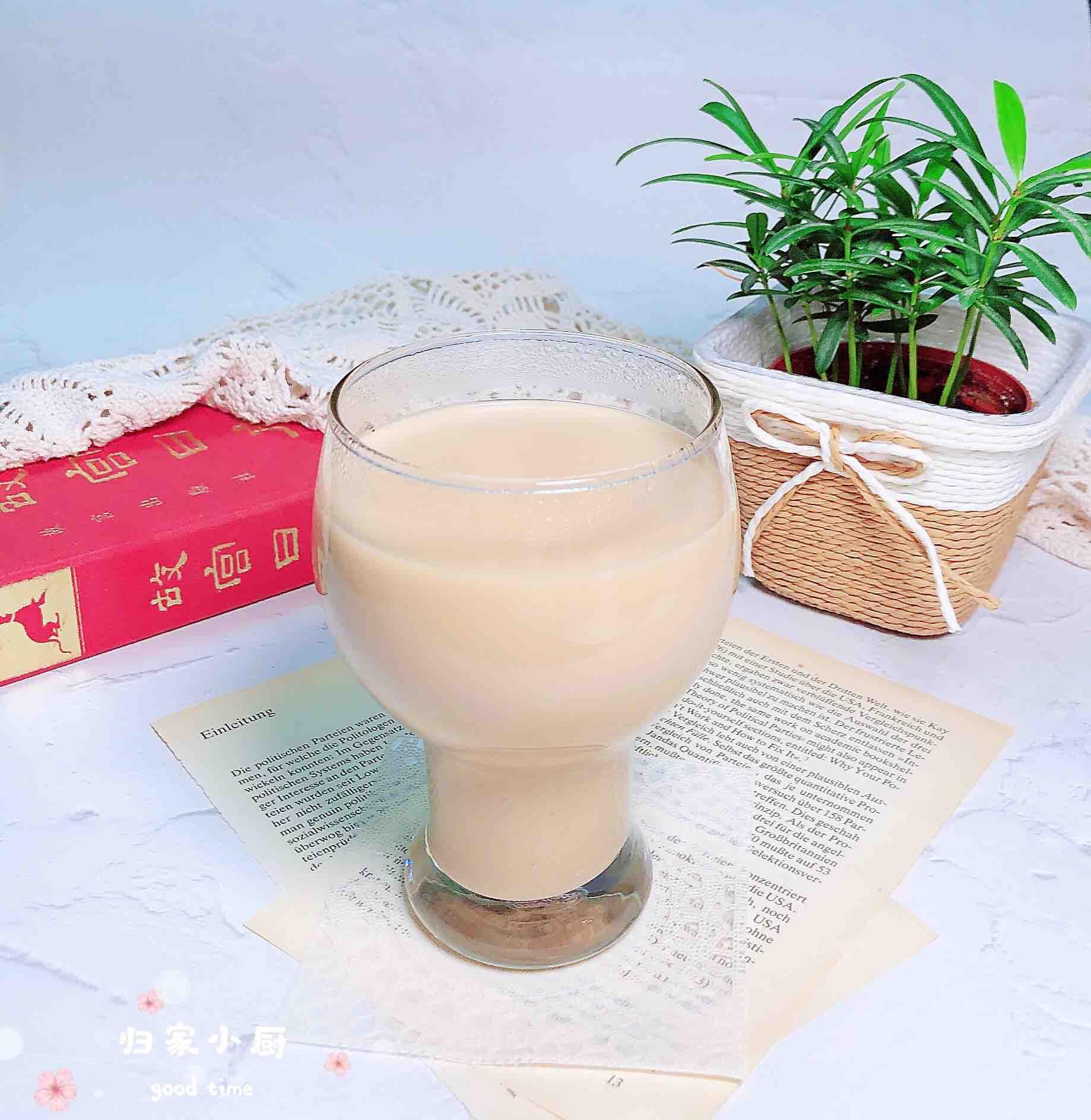 新疆奶茶成品图
