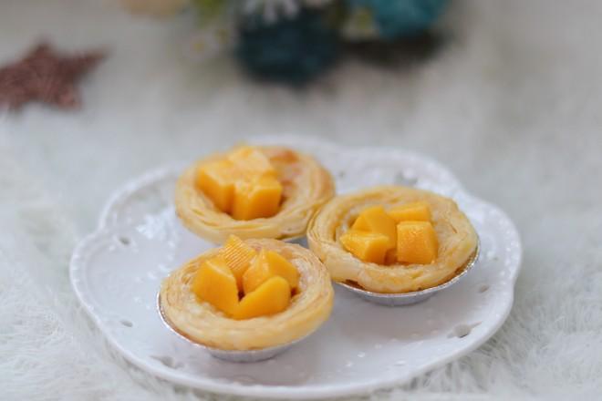 芒果葡式蛋挞怎么煸