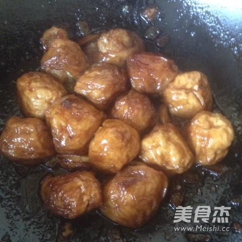 油面筋塞肉怎么炒