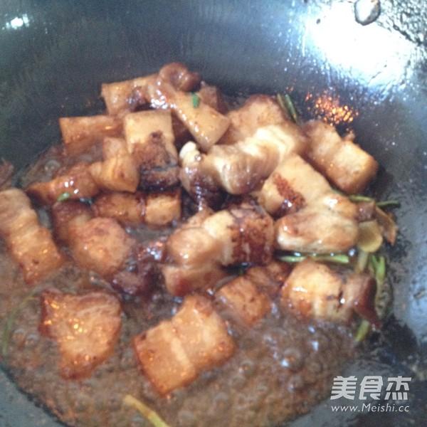 百叶结烧肉怎么炒