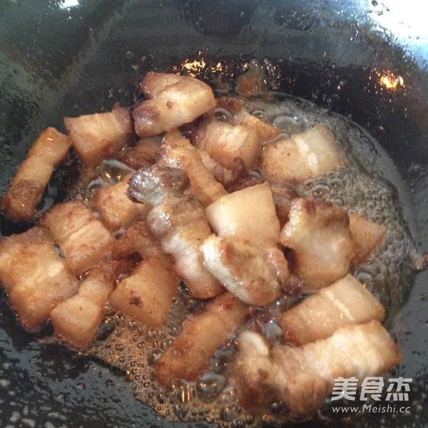 百叶结烧肉怎么做