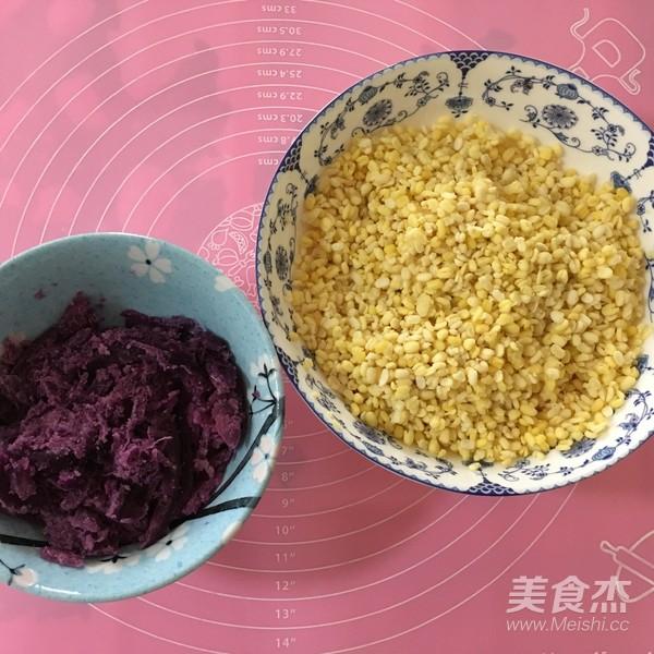 紫薯绿豆糕怎么吃