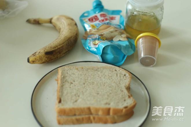 花生酱香蕉三明治的做法大全