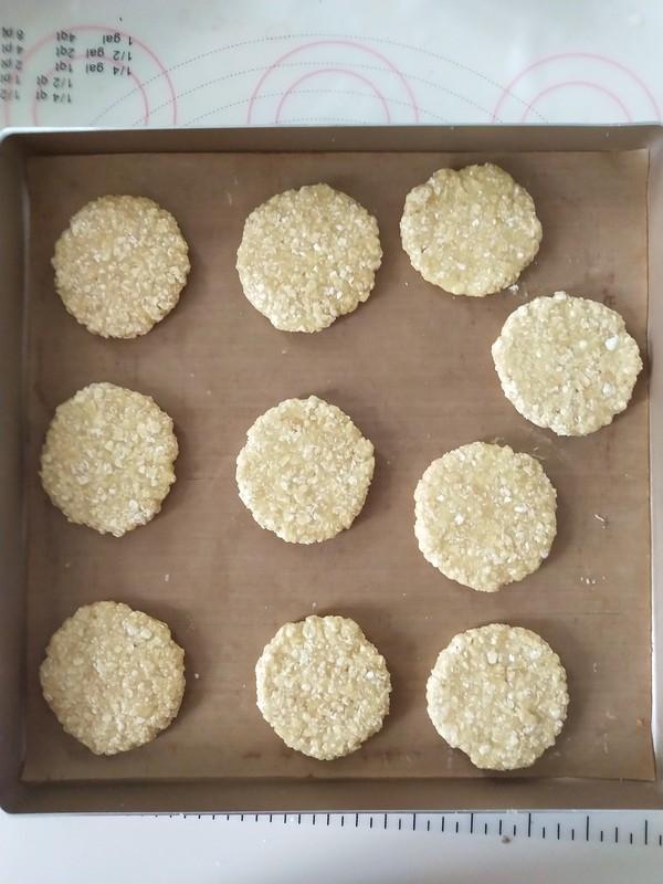 低脂燕麦小圆饼怎么做