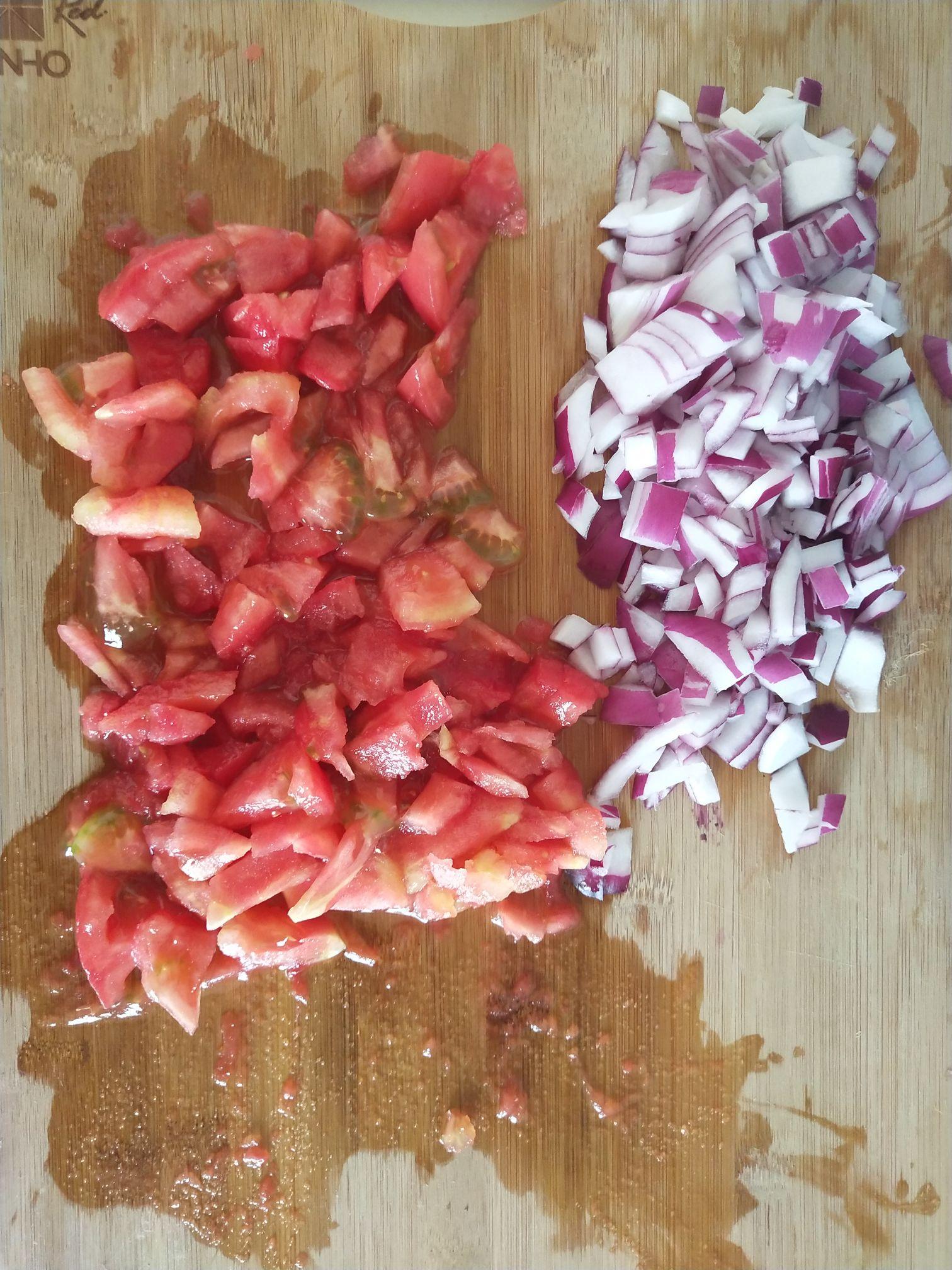 番茄黑椒煎鸡肉的做法图解