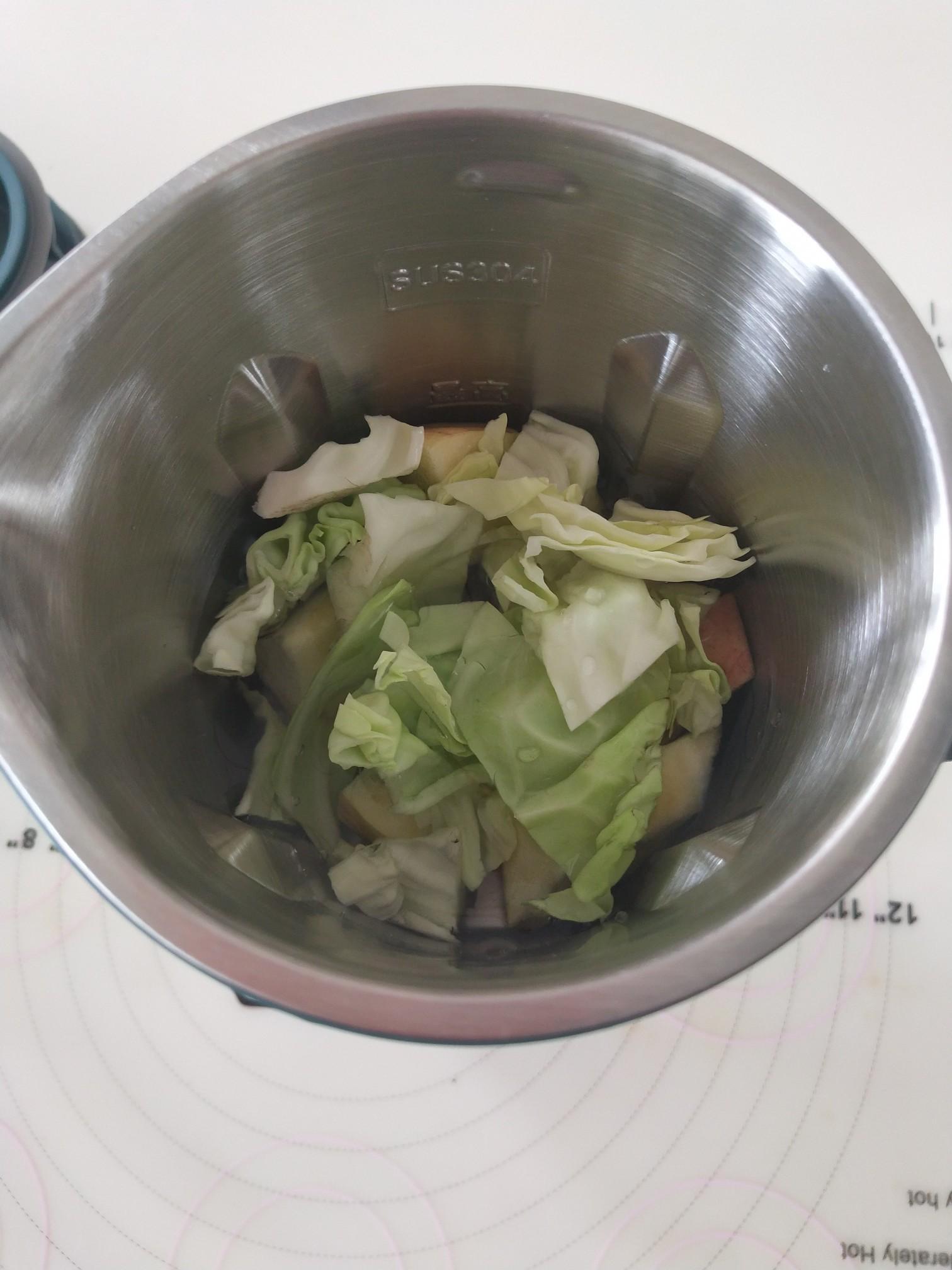 圆白菜苹果汁的家常做法