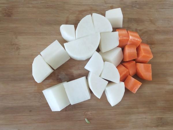 啤酒羊肉炖萝卜的做法图解