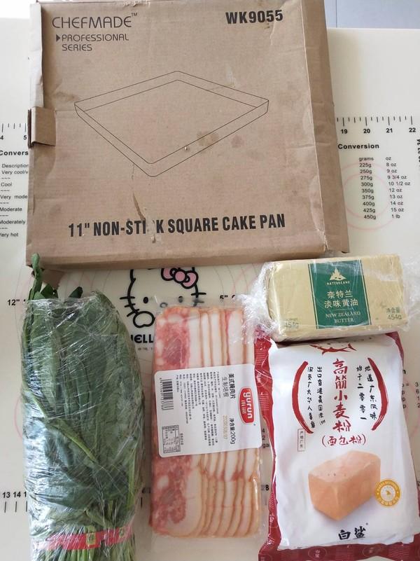 菠菜培根面包卷的做法大全