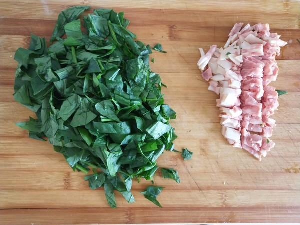 菠菜培根面包卷的简单做法