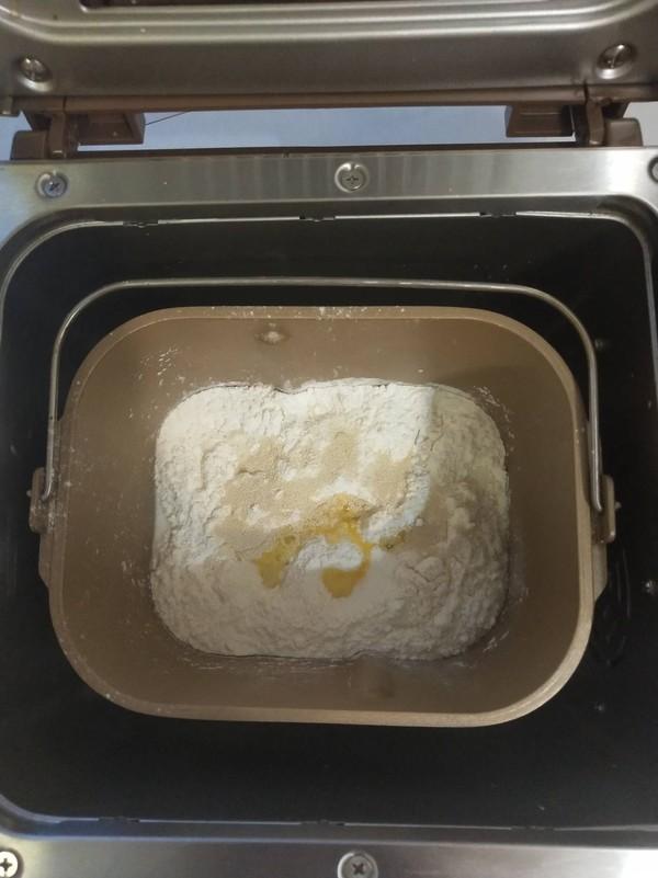 日本生吐司(面包机版)的做法图解