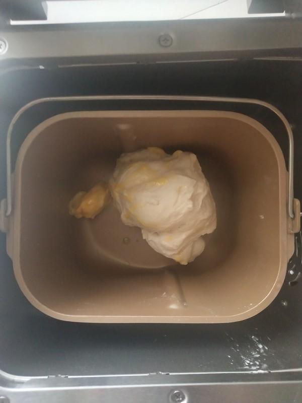 芋泥肉松面包的家常做法