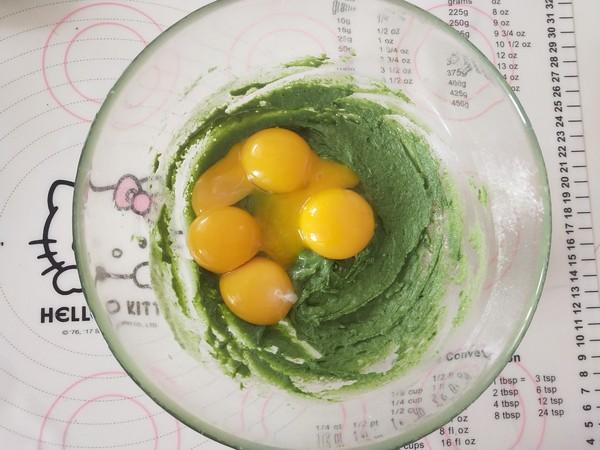 抹茶蜜豆蛋糕卷的简单做法