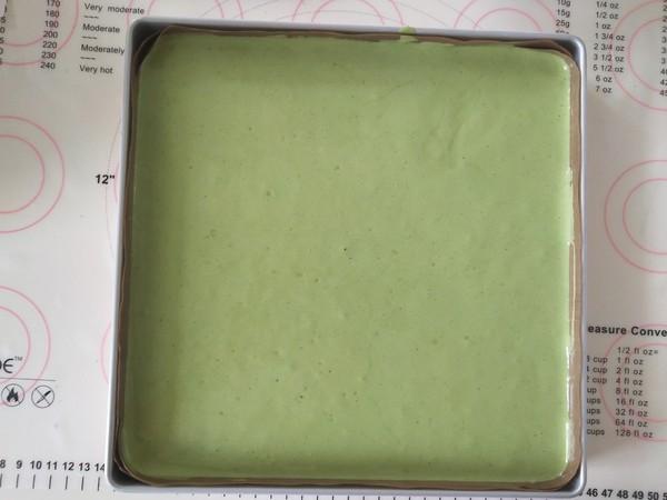 抹茶蜜豆蛋糕卷怎么炖