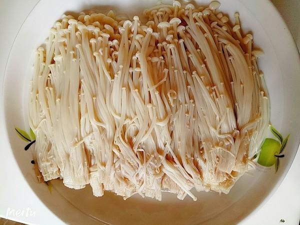 凉拌金针菇的做法图解