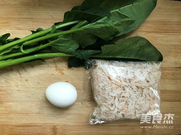 宝宝辅食:菠菜虾皮蒸蛋的做法大全
