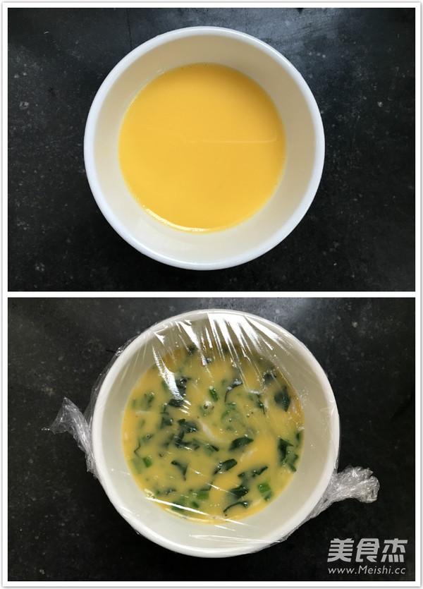 宝宝辅食:菠菜虾皮蒸蛋的简单做法