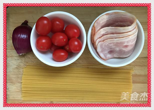 小番茄培根意面的做法大全