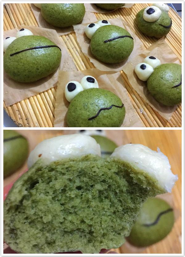 青蛙弗洛格馒头(菠菜版)怎么炖