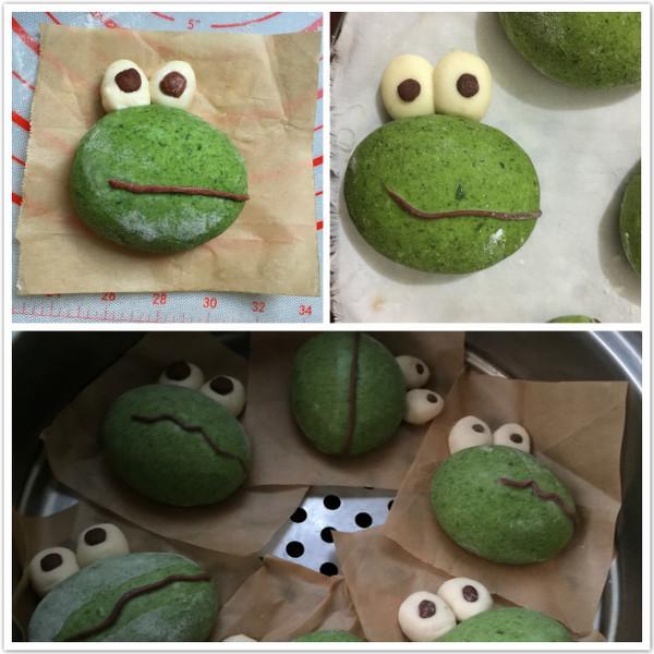 青蛙弗洛格馒头(菠菜版)怎么煮