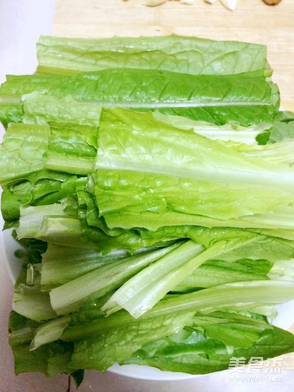 蚝油油麦菜的做法图解