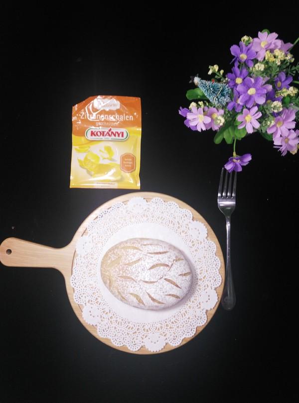 柠檬软欧成品图
