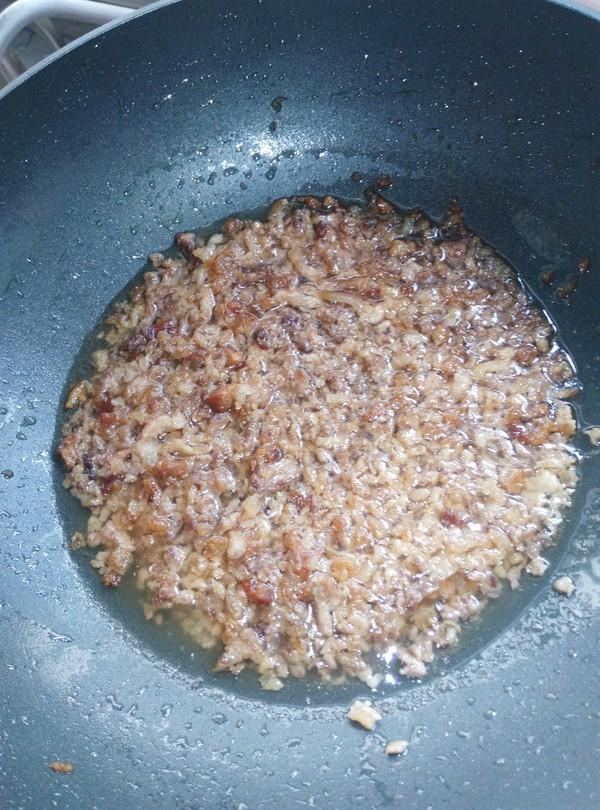 青菜馅的糯米粉包圆子的家常做法