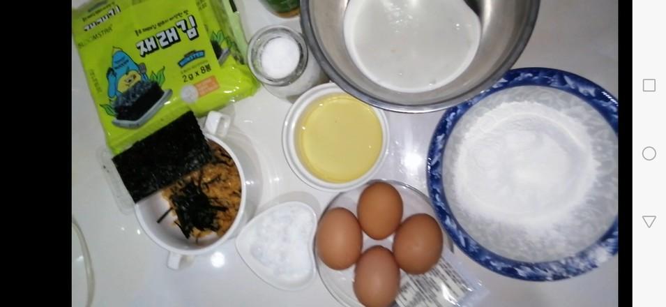 海苔肉松蛋糕杯的做法大全