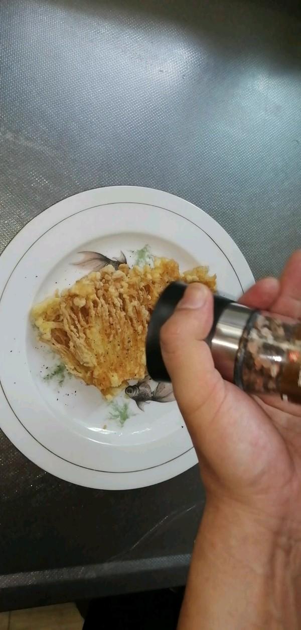 油炸金针菇怎么炖
