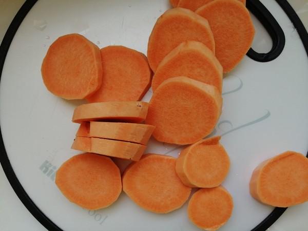 红薯麻薯软欧包的简单做法