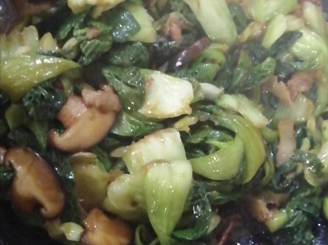 腊肉香菇青菜怎么煮