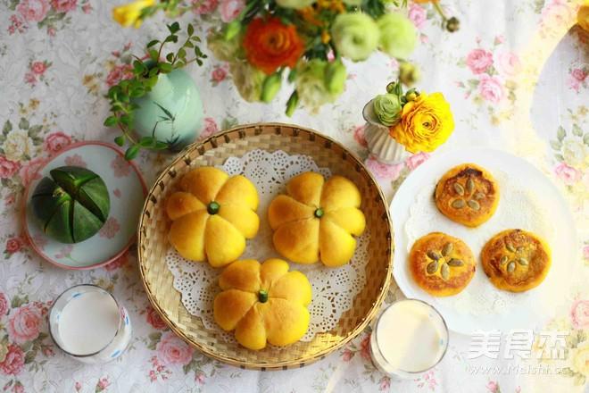 柔软可爱的超萌南瓜面包的制作